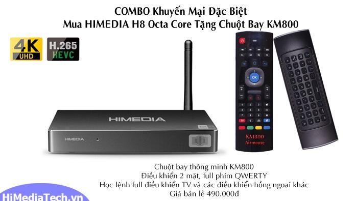 HiMedia H8 Octa Core tặng chuột