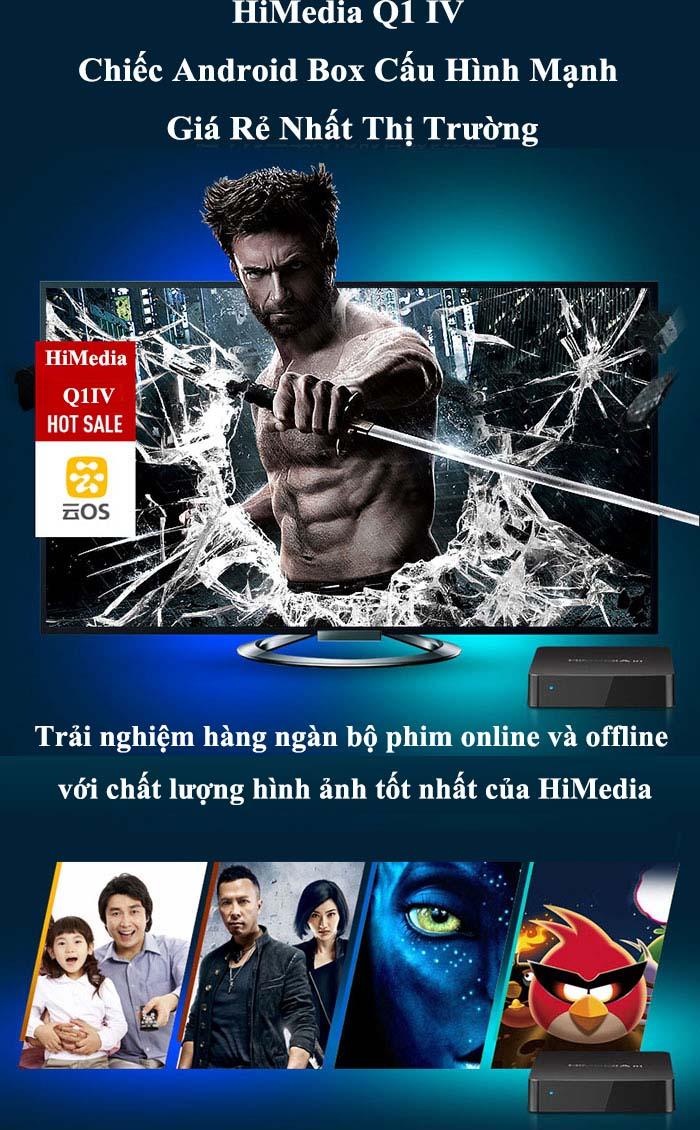 Android TV Box Q1 IV giá rẻ