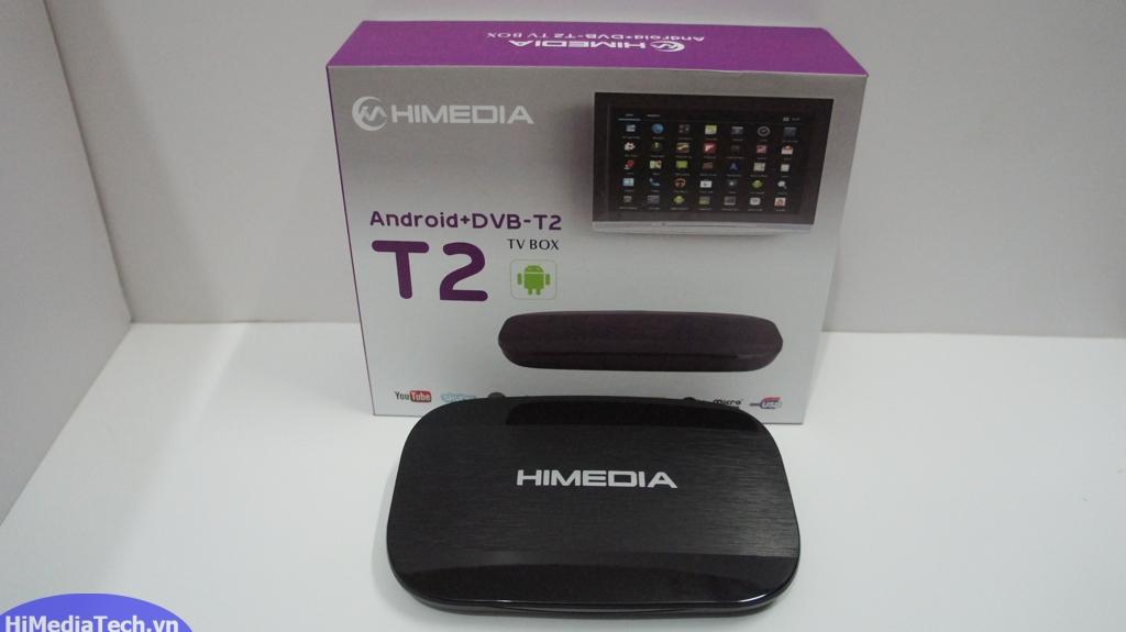 Android TV box Himedia T2 mặt trước