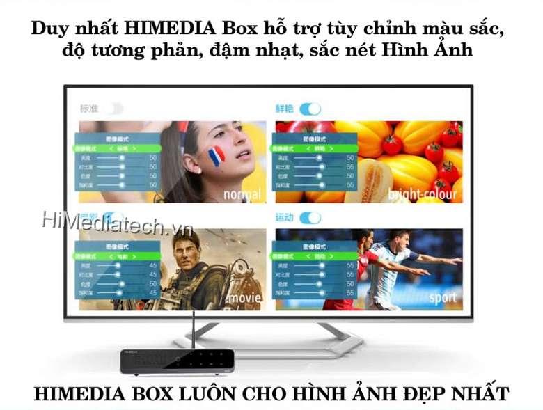 Android TV Box Q10 Hỗ trợ tuỳ chỉnh màu sắc