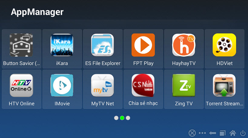 Hướng dẫn thêm thanh task bar navigator cho các dòng Android Tv Box HIMEDIA