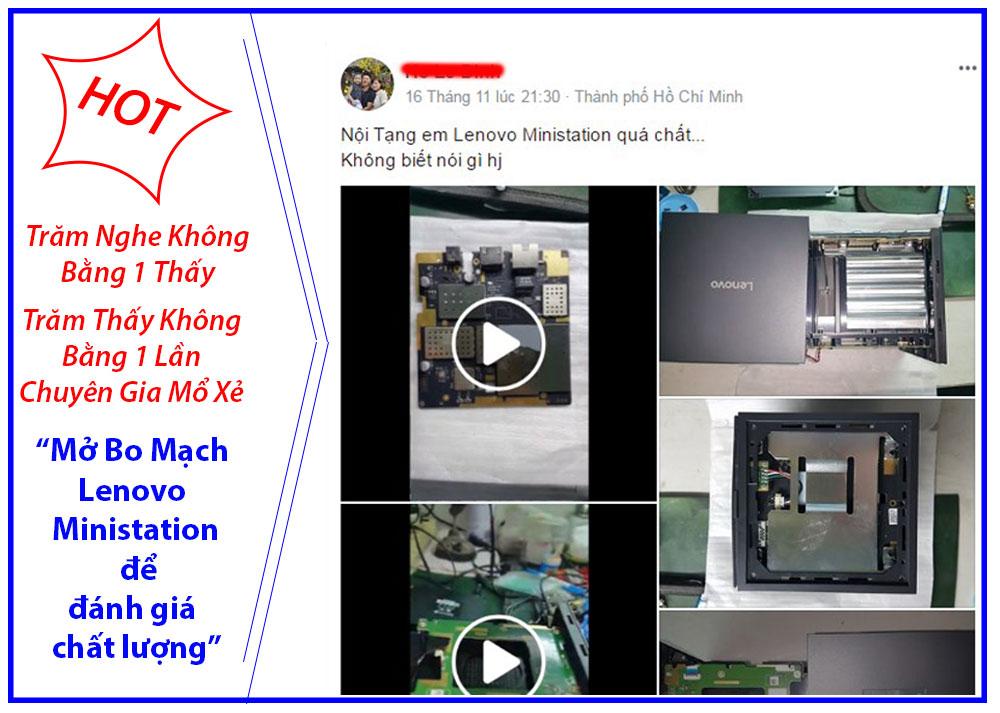 Đánh giá Lenovo Ministation
