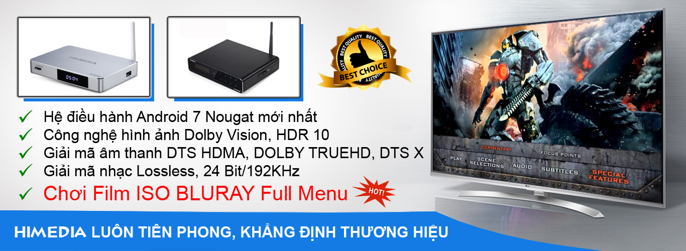 Himedia q10 pro q5 pro xem bluray full menu